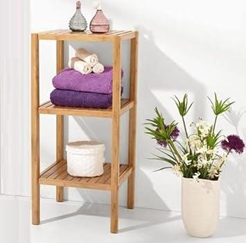 bamb scaffale per bagno bagno mobiletto bagno mobili da bagno 37 x 80 x 33 set