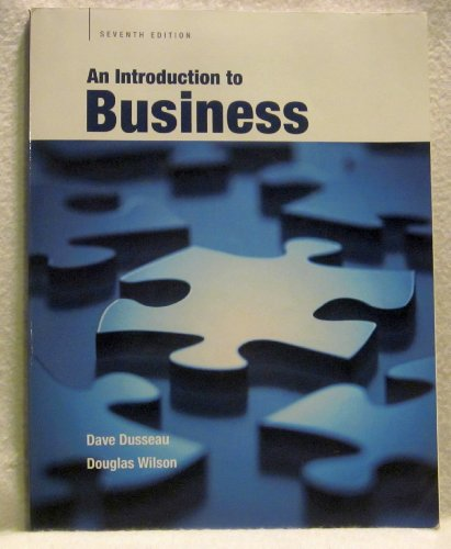 An Introduction to Business