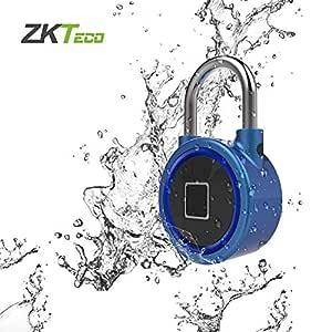 Candado Inteligente Azul - ZKTeco FB50 - Padlock con