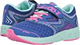 ASICS Unisex-Kids Noosa PS Running Shoe, Blue Purple/Glacier/Hot Pink, 1.5 Medium US Little Kid