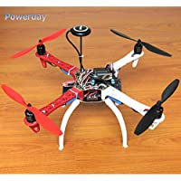 powerdayDIY ATF F450 Quadcopter Kit +APM2.8 FC +NEO-7M GPS &GPS Bracket+X2212 980KV Brushless motor+Simonk 30A ESC+1045 Propeller+Landing gear+Spare parts pack
