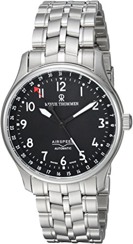 Revue-Thommen-Mens-16005-2137-Airspeed-Classic-Analog-Display-Swiss-Automatic-Silver-Watch