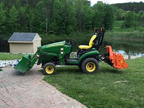UL60 with PTO Shaft Rotary Tractor Tiller 3 Point Hitch Cosmo Bully 60