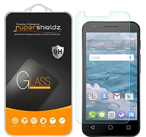 Supershieldz [2-Pack] for Alcatel Streak Tempered Glass Screen Protector, Anti-Scratch, Anti-Fingerprint, Bubble Free, Lifetime Replacement