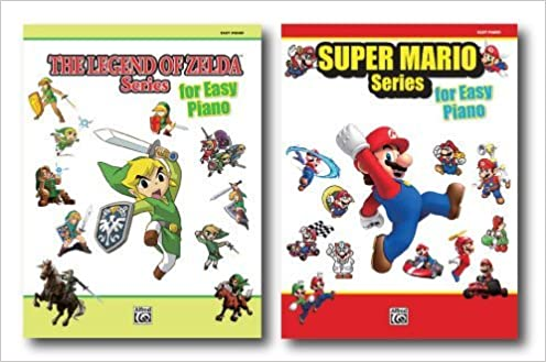 Alfred's Nintendo Easy Piano Pack - Two Books - Includes Super Mario