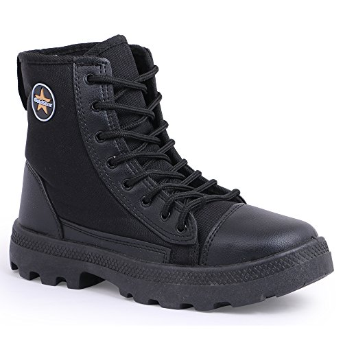 GoldStar Black Track and Field Shoes-8 UK/India (42 EU) (Jungle Boot Men) (B07D2HC62C) Amazon Price History, Amazon Price Tracker