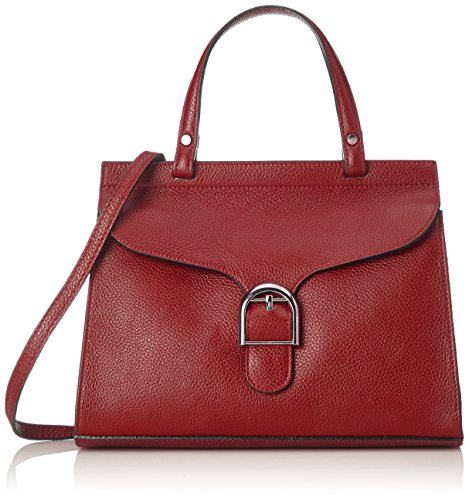 Chicca Borse 8836, sac bandoulière Rouge (Rosso Rosso)