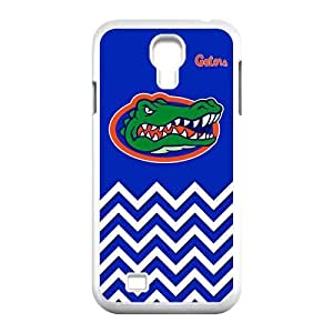 NCAA Florida Gators Logo Blue Ripple Samsung Galaxy S5 I9600/G9006/G9008 Perfect Color Match Cover Case for Fans