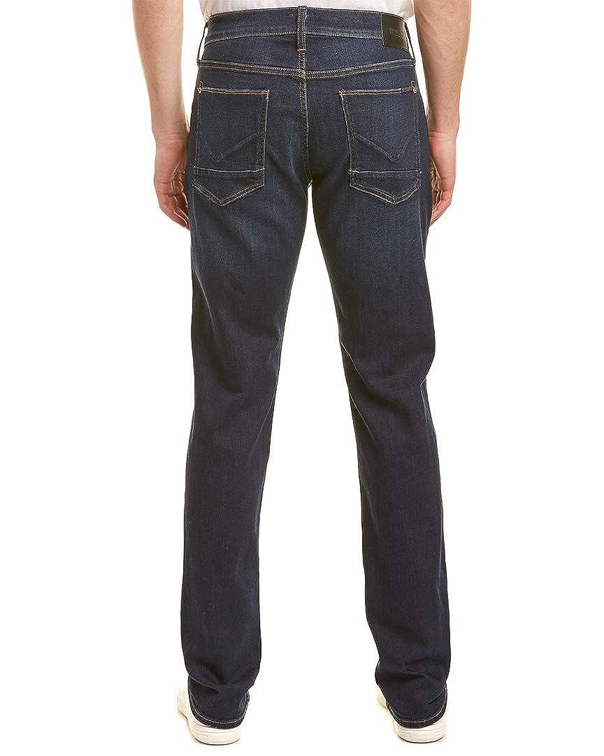 Hudson Jeans Mens Byron Blue Straight Leg 42 Blue