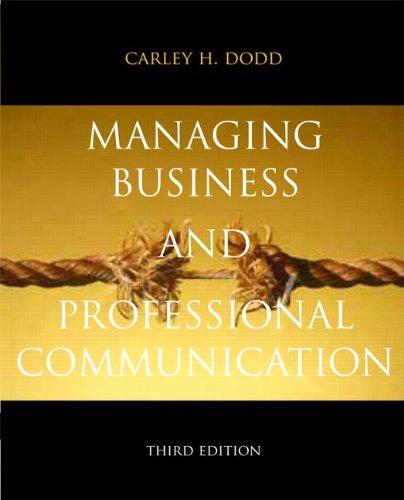 Managing Business+Prof.Communication