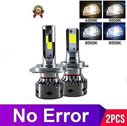12000LM H11 H1 H4 H7 LED Canbus sin error bombillas de faros ...