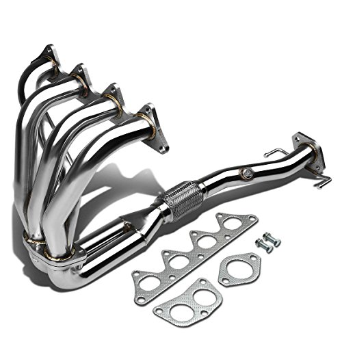 Mitsubishi Mirage 4-2-1 Design 2-PC Stainless Steel Exhaust Header Kit - 1.8L I4 (Mitsubishi Mirage 2 Door Coupe)