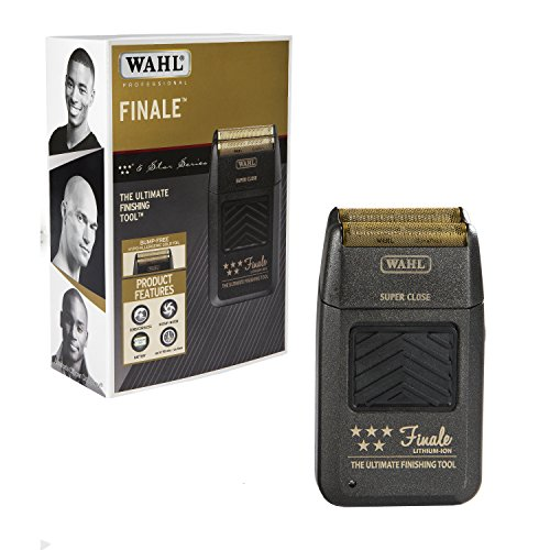 (Wahl Professional 5-Star Series Finale Finishing Tool #8164 - Great for Professional Stylists and Barbers - Super Close - Black)