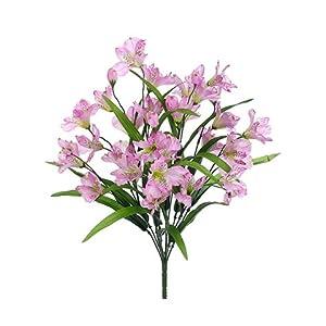 "21"" Alstroemeria Bush x11 Lavender (Pack of 12) 80"