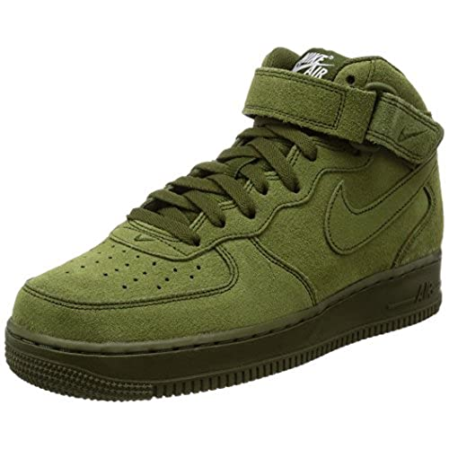 Nike Menu0027s Air Force 1 Mid Basketball Shoe (11)
