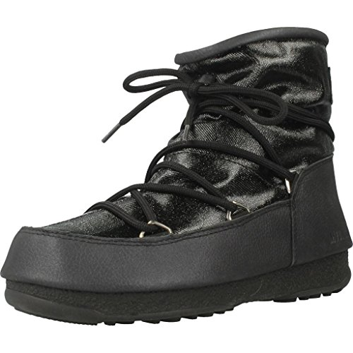 Boot Boots Glitter Snow Low nero Moon da donna W e ASU67