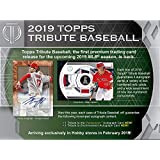 2019 Topps Tribute Baseball Factory Sealed 6 Pack Hobby Box - Baseball Wax Packs
