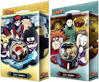Naruto TCG Naruto Shippuden Card Game Kage Summit Set of Both Theme Decks [Sibling's Fury & - Naruto Ccg Starter Decks