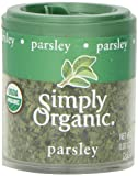 Simply Organic Parsley Leaf Flakes Certified Organic, .07 Ounce Containers (Pack of 6)