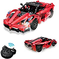 Geekper RC Building Block Electric Racing Car (380-Pieces)