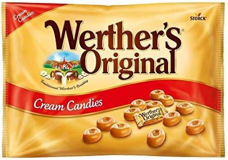 Werthers Original Caramelos de Mantequilla y Nata Fresca - 1000 gr