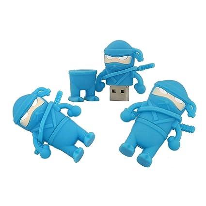 Amazon.com: 8GB Ninja Model PenDrive USB Flash Drive Memory ...