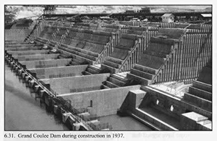 Amazon com: Photo: Grand Coulee Dam during Construction