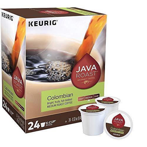 Java Roast R24323956 Colombian Coffee Keurig K-Cup Pods Med Roast 24/BX