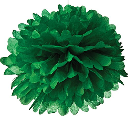 UPC 696738184923, Luna Bazaar Tissue Paper Pom Pom (10-Inch, Kelly Green) - For Baby Showers, Nurseries, and Parties - Hanging Paper Flower Decorations