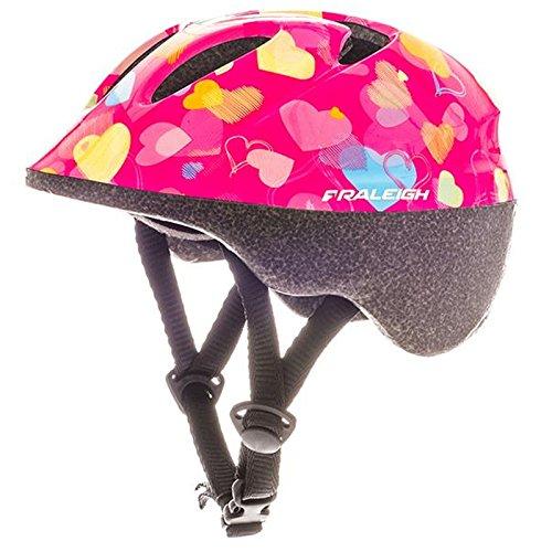 RALEIGH Rascal Hearts Kids Bike Helmet - Pink - XX Small