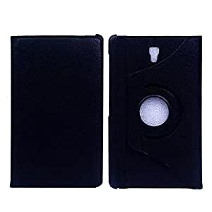 T700 Case,Ezydigital Carryberry Samsung Tab S 8.4 leatherCase,Ezydigital Carryberry Samsung Galaxy Tab S 8.4 Case Cover Classic PU Leather 360 Degree Rotating Flip Stand Case Cover for Galaxy Tab S 8.4 Inch T700 / T701 Black
