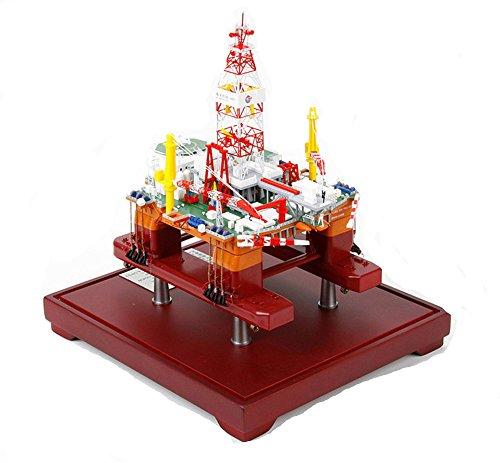 Deep Oil Drilling - CNPC Offshore oil 981 drilling platform deep sea Oil pumping unit model
