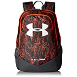 Under Armour Boys' Storm Scrimmage Backpack, Magma Orange/Rhino Gray, One Size