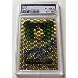 Pele Brazil National Soccer Olympics Signed Superfractor Custom CARD 1/1 - PSA/DNA Certified - Autographed Soccer Cards