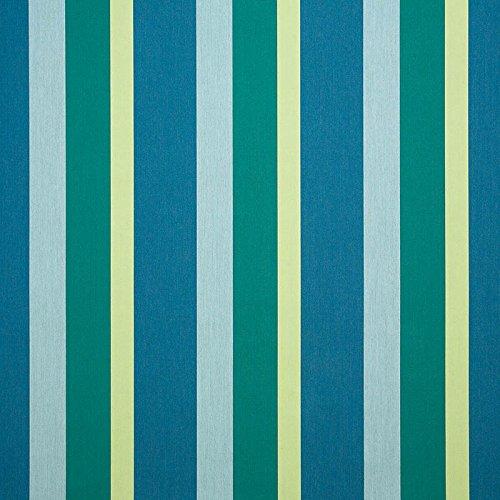 Yellow Stripe Upholstery Fabric - Sunbrella Gateway Tropic #56101-0000 Indoor / Outdoor Upholstery Fabric