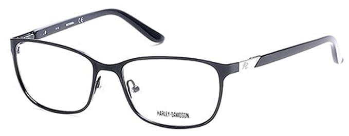 HARLEY DAVIDSON Eyeglasses HD0530 002 Matte Black at Amazon Men\'s ...