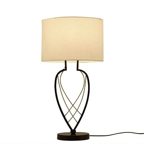 YUMUYMEY Lámpara De Mesa Moderna China Lámpara De Mesa De ...