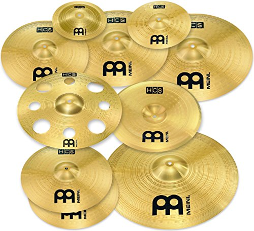 Meinl Cymbals HCS-SCS1 Ultimate Cymbal Box Set Pack with Free 16-Inch Trash Crash (VIDEO)