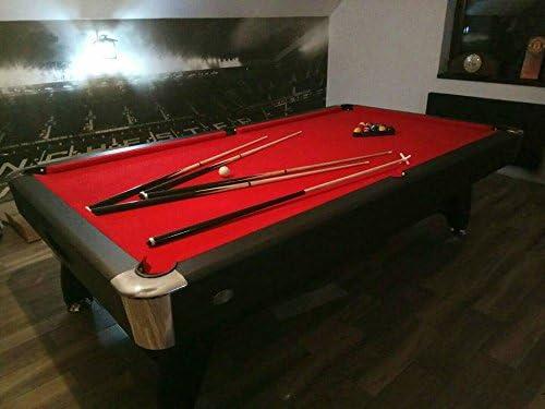 Mesa de billar 7 ft diseño moderno en negro piano by Radley ...