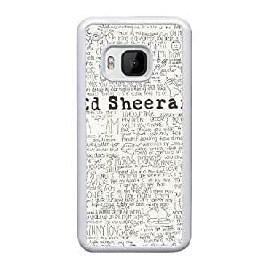 HTC One M9 Cell Phone Case White Ed Sheeran Quotes YT3RN2537097