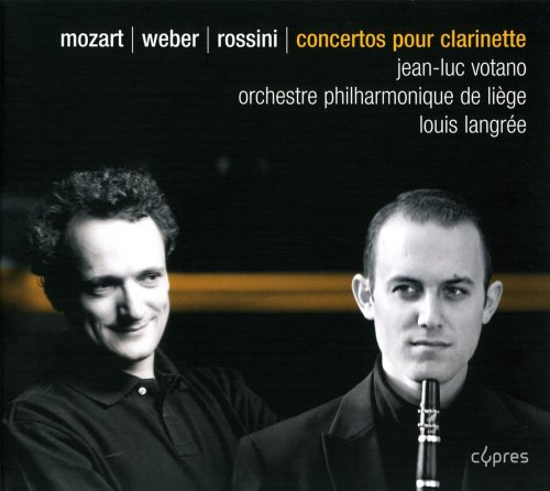 Mozart: Clarinet Concerto in A Major/Weber: Clarinet Concerto No 1 in F Minor/Rossini: Introduction, Theme and Variations (Rossini Theme And Variations)
