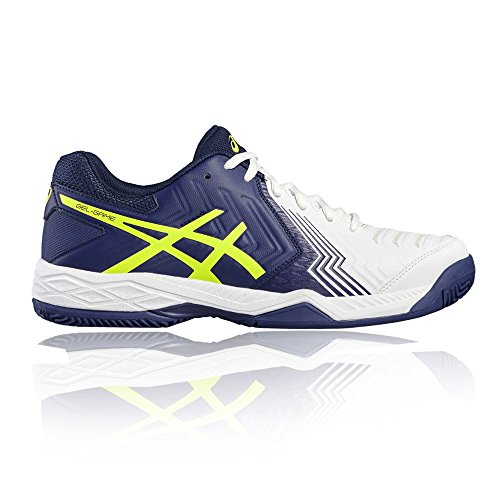 De Colores Zapatillas Black royal 0149 Varios Unisex Asics White Tenis Adulto E706y tqOfWwH