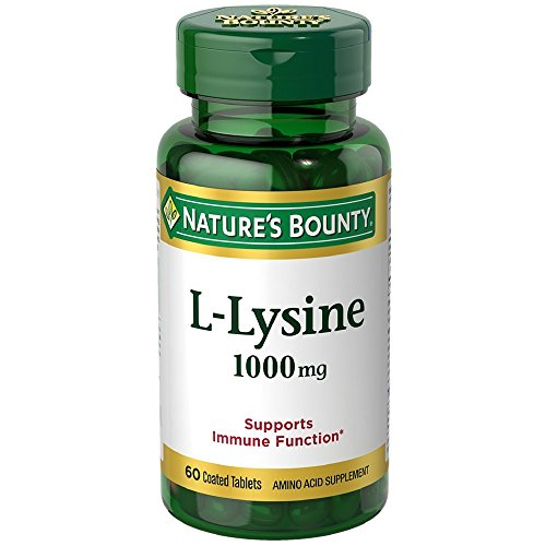 Natures Bounty L Lysine 1000 Tablets