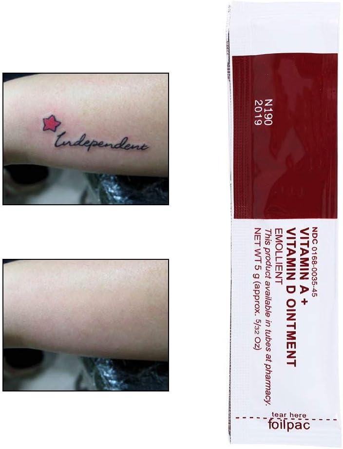 Crema Aftercare del tatuaje Ungüento de la vitamina A y D Crema ...