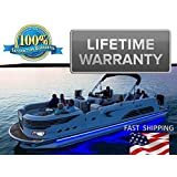 PONTOON lighting kit - UNIVERSAL will fit any pontoon or boat - Remote Control - Color Selectable - Under Deck or Around the hull - LIFETIME WARRANTY - Red Green Blue White Orange Purple more...