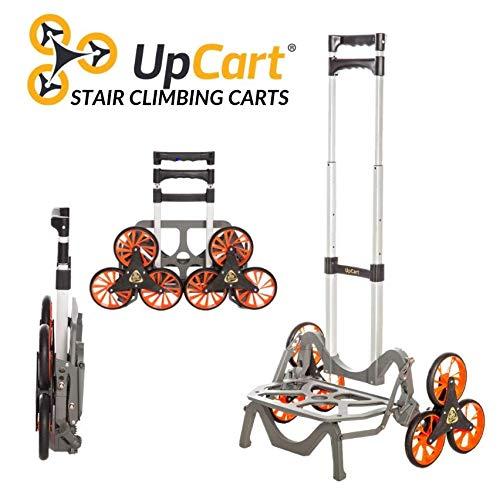UpCart Deluxe All-Terrain Stair Climbing Folding Cart (Table Folding Truck)