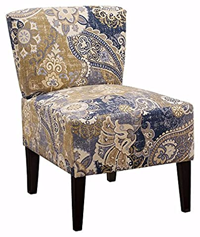 Ashley Furniture Signature Design - Ravity Accent Chair - Sophisticated Contemporary Design - Denim - Upholstery Living Room Furniture