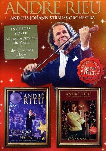 Andre Rieu Christmas Around the World & Christmas (Rieu Christmas Andre Dvd)