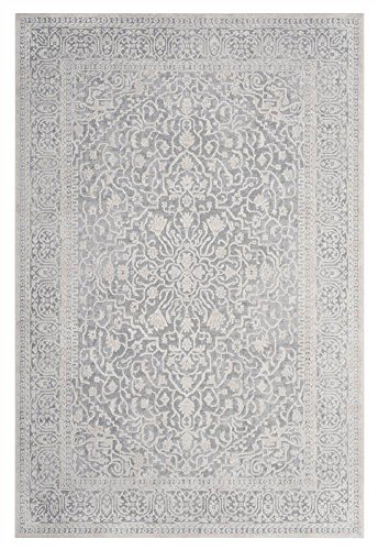 Safavieh Reflection Collection RFT670C Light Grey and Cream Area Rug 3 x 5