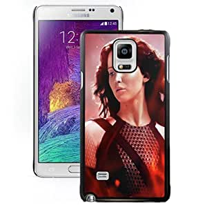 Beautiful Custom Designed Cover Case For Samsung Galaxy Note 4 N910A N910T N910P N910V N910R4 With KatniS4 In The Hunger Games Catching Fire Phone Case